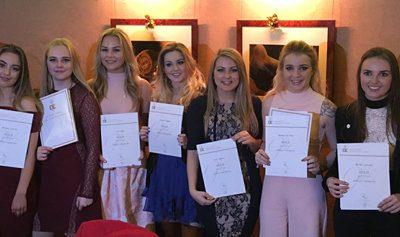 Duke of Edinburgh students at the gold awards at St James's Palace