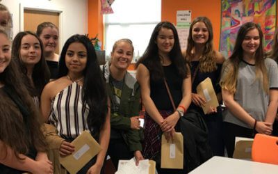 Students and Staff Delighted by GCSE Results