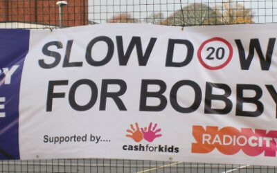 Holly Lodge is proud to support the Slow Down for Bobby Campaign