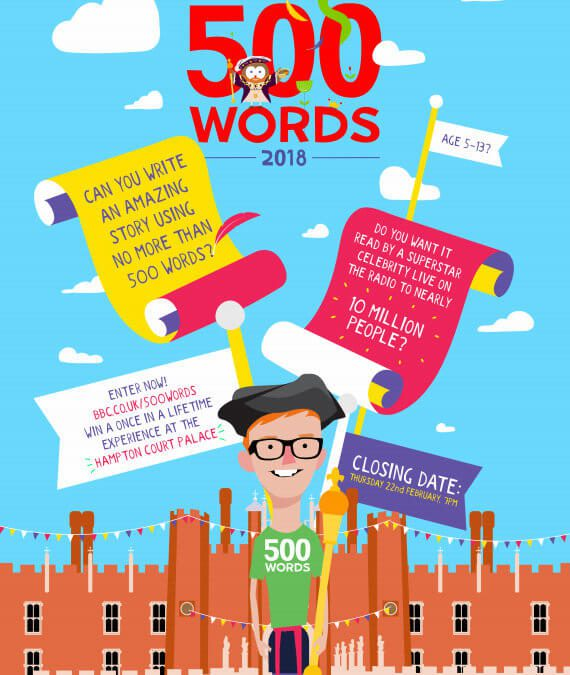 500 Words is back for 2018!