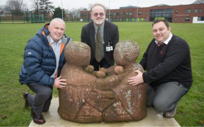 Hope restored after Redrow returns treasured statue to Holly Lodge
