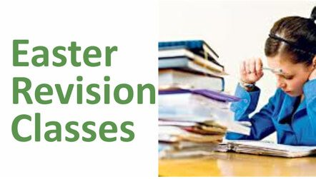Easter Revision classes 2018 Years 11 and 13