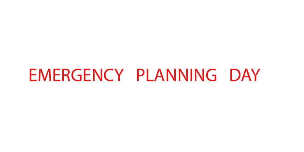 Emergency planning day