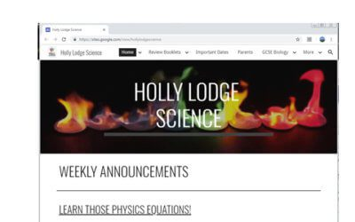 Holly Lodge Science Department