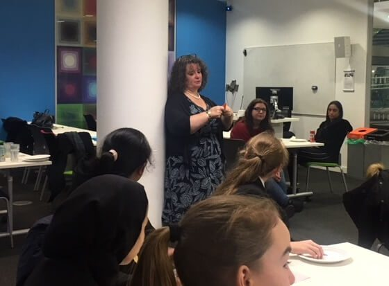 Year 9 Shaping Futures Maths Club at LJMU