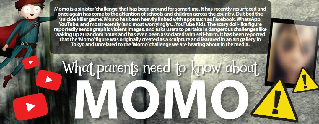 Advice about the Momo Challenge