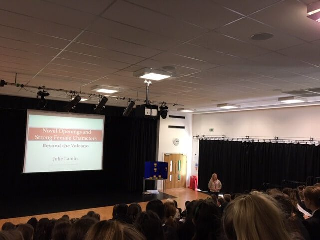 Author Visit for Year 9